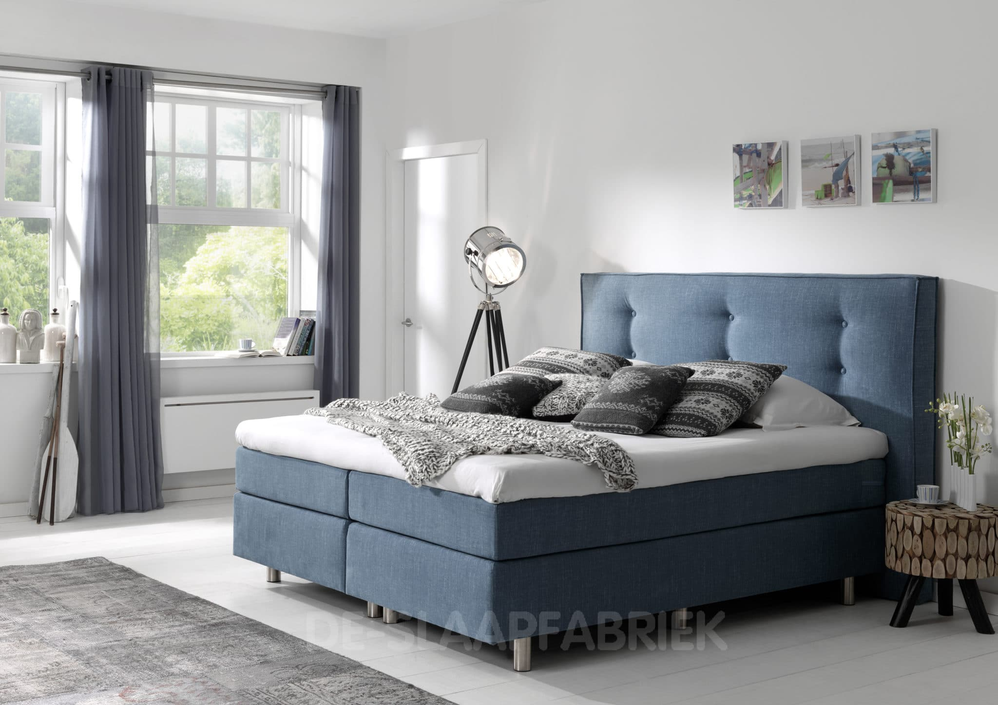 boxspring imola de slaapfabriek. Black Bedroom Furniture Sets. Home Design Ideas