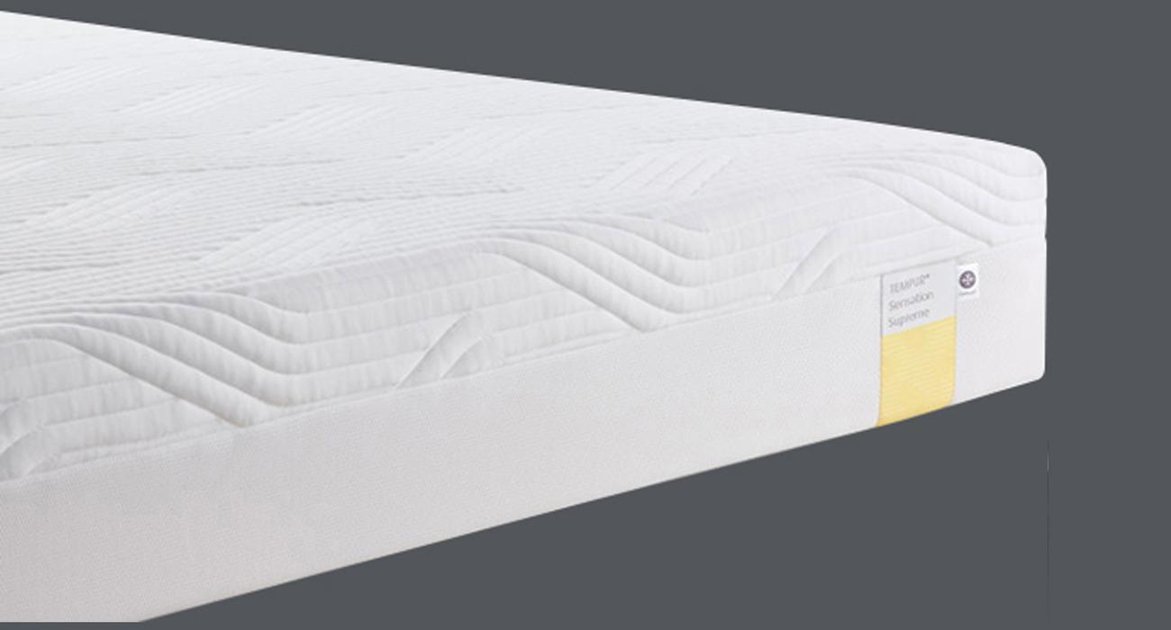 Matras tempur sensation supreme de slaapfabriek