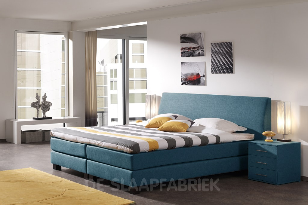 boxspring monza de slaapfabriek. Black Bedroom Furniture Sets. Home Design Ideas