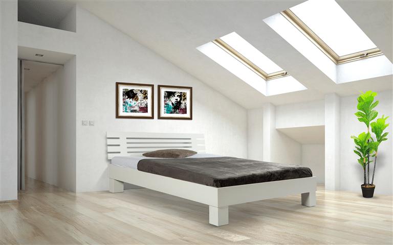 Achterwand bed hout bed achterwand maatwerk with achterwand bed