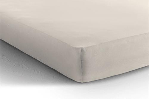 Jersey hoeslaken matras - creme De-Slaapfabriek