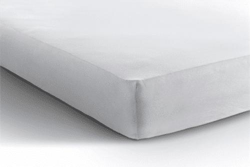Jersey hoeslaken matras - wit De-Slaapfabriek