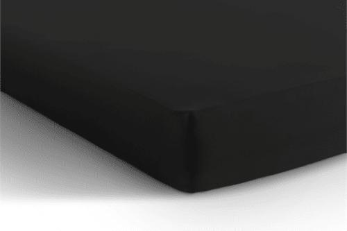 Jersey hoeslaken matras - zwart De-Slaapfabriek