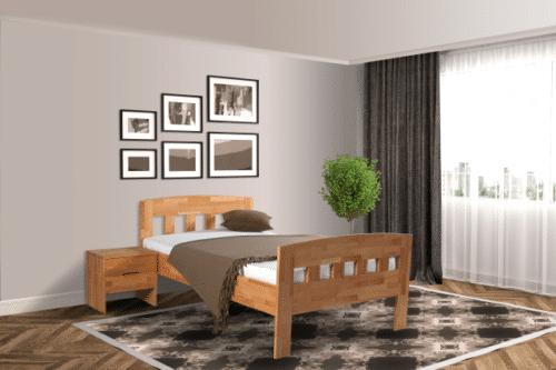 Senioren bed comfort compleet beuken De-Slaapfabriek