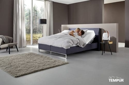 Tempur Relax bed Shape Overview De-Slaapfabriek