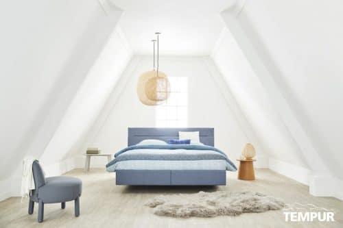 Tempur Relax bed Texture De-Slaapfabriek