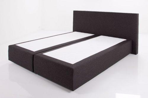 Wonderbaar Zwevende boxspring met hoofdbord zonder matrassen Marit   De WC-18